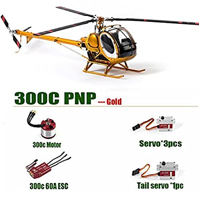 JCZK Hughes 300C RC Helicopter PNP Version Brushless All Metal High Simulation Remote Control Helicopter ARF Static Aircraft Electric Rc Helicopter 450L Model DIY