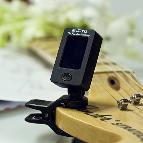 hantwin chromatic guitar tuner 360 degree rotational electronic digital tuner easy to use highly. Black Bedroom Furniture Sets. Home Design Ideas