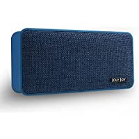 Joly Joy Portable Bluetooth 4.1 Speaker Wireless Fabric Speaker for Enhanced Music Streaming & HandsFree Calling, Built-in Mic, 3.5mm Line-In