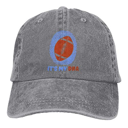 Rugby is My DNA Unisex Baseball Caps Denim Hats Cowboy Outdoor