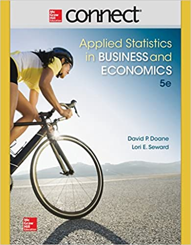 Connect access card for applied statistics in business and connect access card for applied statistics in business and economics 5th edition fandeluxe Image collections