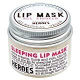 100% Natural Vegan Sleeping Lip Mask, Overnight Lip Moisturizer and Conditioner for dry lips. Intensive Lip Balm and Lip Therapy