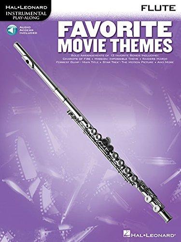 FAVORITE MOVIE THEMES FLUTE BK/CD (1997-10-01)