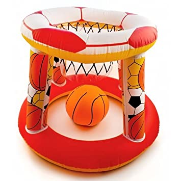 Canasta baloncesto hinchable - Ideal piscinas, Ø 61 cm ...