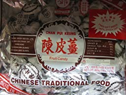 Preserved Ginger Snack -Chan Pui Keung (Fruit Candy), 14 Oz (400 G) (Pack of 1)