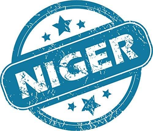 Venu67Hol Niger Grunge Stamp Home Decal Vinyl Sticker 14