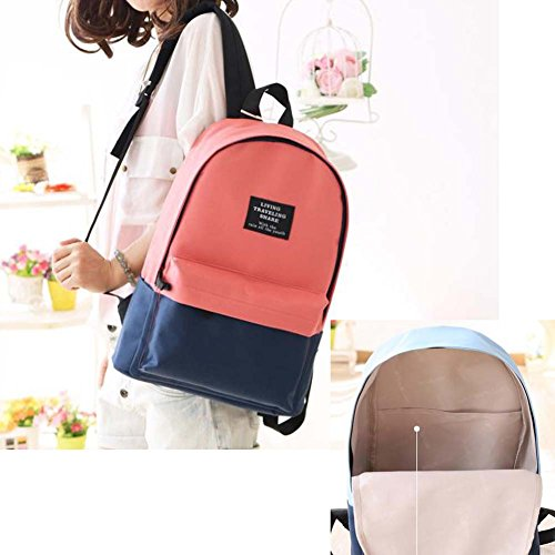 Fashion Student Bag Casual Canvas Rucksack Kleine Fresh Travel Rucksack_A11