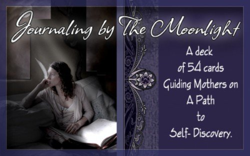 Journaling by the Moonlight : A Deck of 54 Cards Guiding Mothers on a Path of Self-Discovery (Amazon Halloween Promo Code)