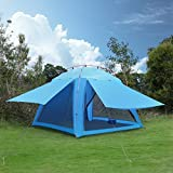 Beach Tent,OUTAD Sun Shelter Sunshade Shelter Waterproof Breathable Anti-Mosquito Beach Shade with Carry Bag