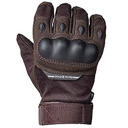 Royal Enfield Military Gloves Brown XL 23 cm