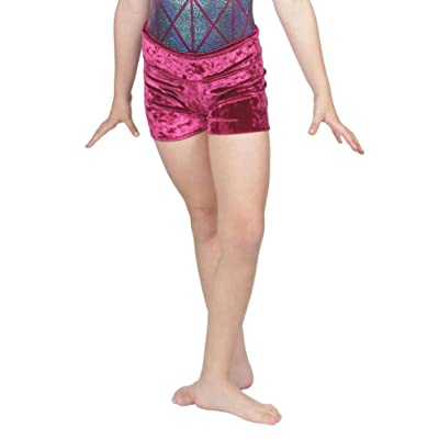 16 Colors in 9 Sizes for Soccer, Lacrosse, etc Ladies Athletic Moisture Management Wicking Sports Shorts Girls 4 5