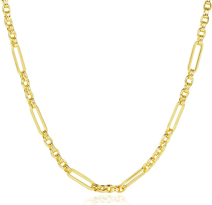 gold layering necklace thick curb chain gold chain choker coin pendant necklace wide chain link chain chunky chain choker