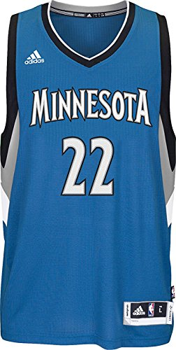 adidas A69836 NBA Minnesota Timberwolves International Swingman Jersey A69836-Parent