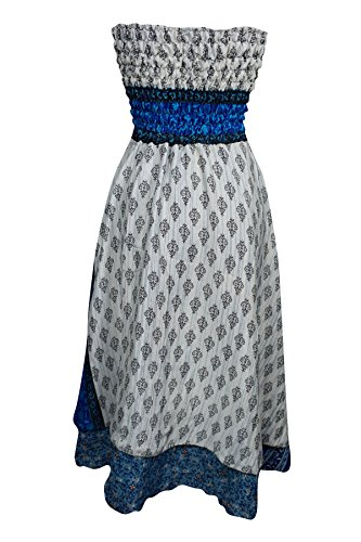 Interior grau Grau M Cocktail Mogul Grau S Blau Damen Kleid 6Bq4PT