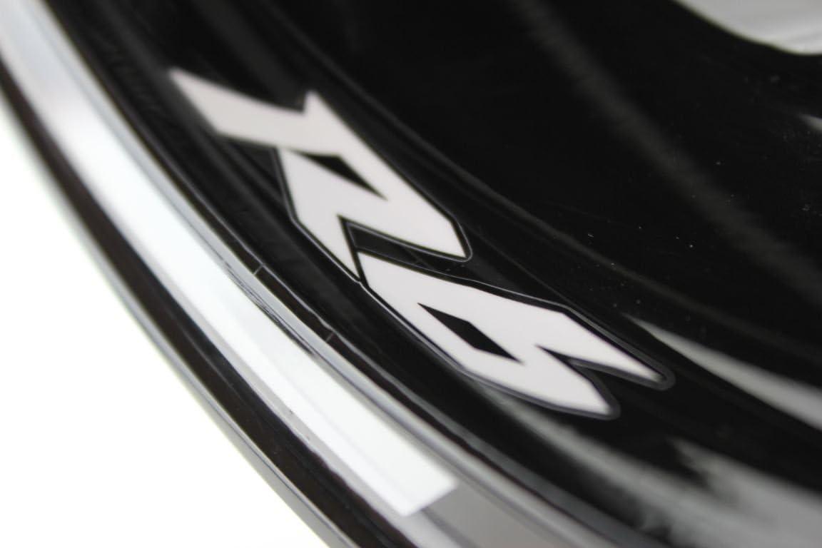 Yamaha YZF R6 Motorrad Felgenrandaufkleber SpecialGP Wei/ß Komplettset Aufkleber Sticker