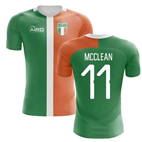 detailed look 93653 655cc Amazon.com : Airosportswear 2018-2019 Ireland Flag Concept ...