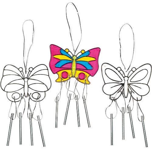 (Baker Ross Butterfly Suncatcher Windchimes (3 Designs))