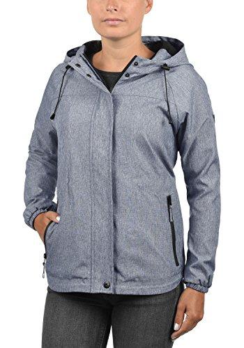 Imperméable Pour Jacket Marine Coupe Blendshe Femmes Les À La Avec Capuche Vent Oda fqwgOWOn6p