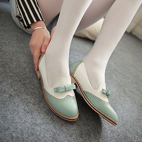 Nueva Sandalias Púrpura Redondo 45 ZHZNVX Cuello Zapatos Mujer de Bajos Escuela Planas de a Otoño Arcos Juego Zapatos aIR7w