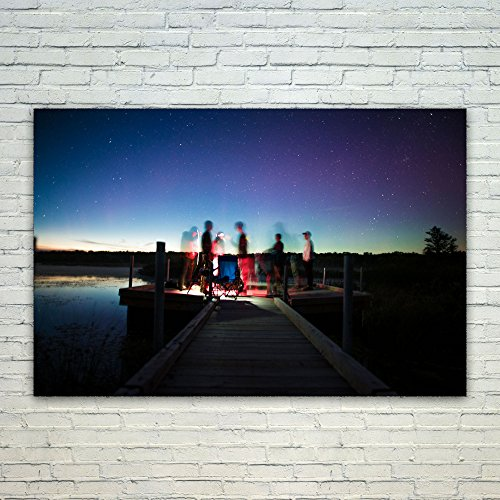 Westlake Art Light Galaxy - 12x18 Poster Print Wall Art - Modern Picture Photography Home Decor Office Birthday Gift - Unframed 12x18 Inch (0295-E90B8) (Bench Therapy Galaxy)