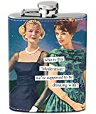 Anne Taintor Flask, Moderation