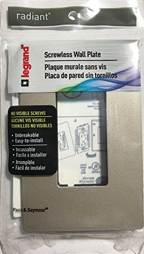 (Pass & Seymour Screwless Wall Plate 1 Gang)