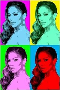 Amazon Com Celebrity Singer Jennifer Lopez Multiple Image