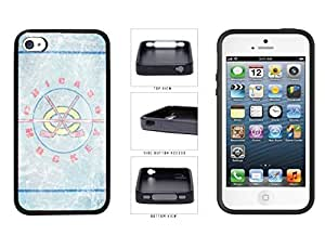 Diy iPhone 6 plus Light Blue Cracked get Ice It Chicago Hockey TPU RUBBER applied SILICONE Phone Case drawn Back Cover Apple iPhone 6 plus