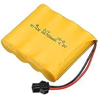 "Vijaya Impex Rechargeable Ni-Cd 4.8V 700Mah ""AA"" Battery Pack Sm 2P Plug for Remote Control Rock Crawler Toys"