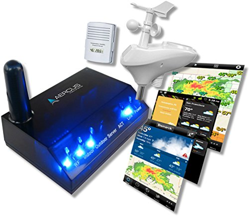 Wireless Weather Station WeatherSleuth - Professional IP Weather Station...