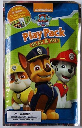 Nickelodeon Paw Patrol Grab and Go Play Pack