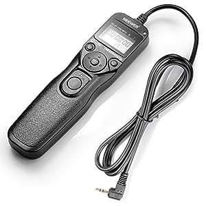 Neewer® LCD temporizador disparador a distancia de Control remoto para Canon 700D/T5i, 650D/T4i, 550D/T2i, 500D/T1i, 350D/XT, 400D/XTi, 1000D/XS, 450D/XSi, 60D, 100D, y Pentax