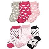 Luvable Friends Baby Crew Socks