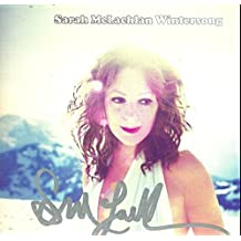 Sarah McLachlan signed Wintersong cd