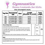 Black Gymnastics Leotards for Girls 7t 8t Dance