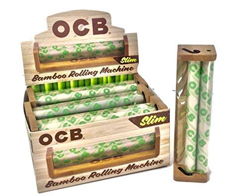 OCB 110 MM Bamboo Slim Cigarette Rolling Machine by OCB