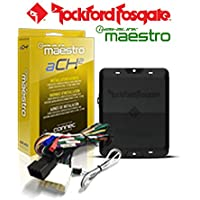 Rockford Fosgate DSR1 8-Channel Interactive Signal Processor w/ ADS HRN-AR-CH2 T Harness for Select Chrysler Vehicles and a SOTS Lanyard