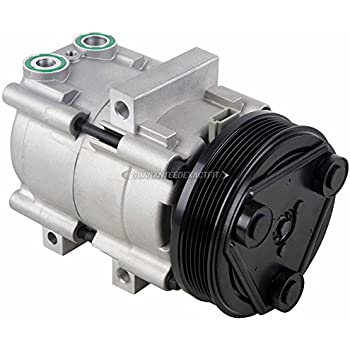 AC Compressor & A/C Clutch For Ford Escape & Mazda Tribute & Mercury Mariner - BuyAutoParts 60-00791NA New