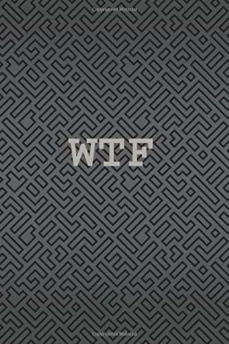 wtf: Password Organizer (Internet Address and Password Journal, Credit Card Account info, Software Codes Password) (Personal Organizer) (Volume 1)