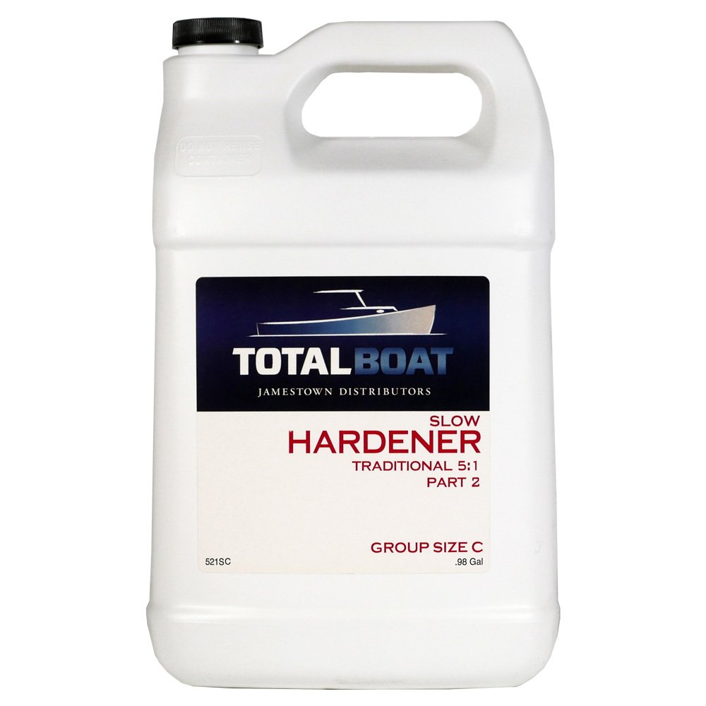 TotalBoat 5:1 Epoxy Slow Hardener (127 Ounce (for 5 Gallons of resin)) by TotalBoat