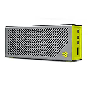 JLab Audio Crasher Loud Portable Bluetooth Stereo Speaker with 18 Hour Battery - Sport Yellow/Gray