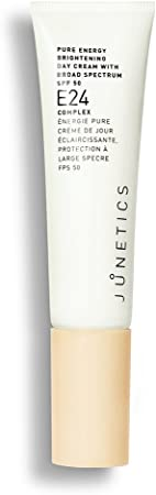 Junetics Pure Energy Brightening Day Cream with Broad Spectrum SPF 50, 1 Ounce