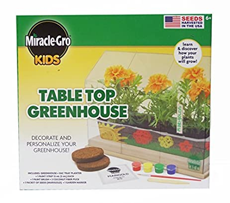 Miracle Gro Kids Tabletop Greenhouse Kit By Miracle Gro Kids