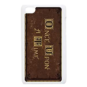 iPod Touch 4 Phone Case White Once upon a time AFVT580564