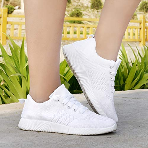 Tissage de Chaussures Femmes Chaussures 39 Volant Bonbon Rouge pour étudiants Shoes pour Noir Course EU Blanc de Casual Blanc GongzhuMM Bleu 36 Couleur PdwqPY