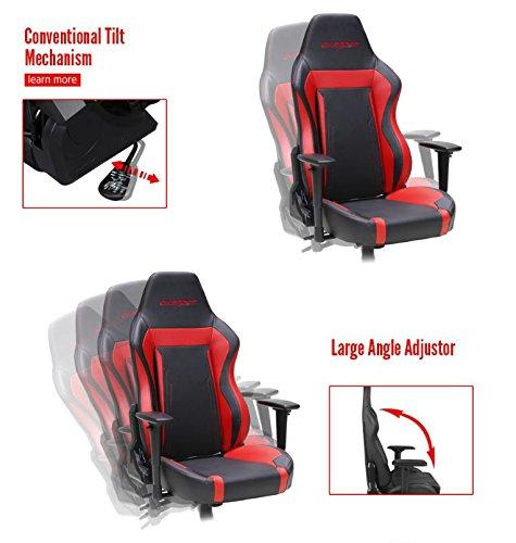 Dxracer Wz06 Black Racing Bucket Seat Office Chair