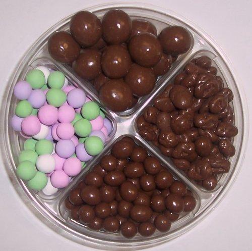 Scott's Cakes 4-Pack Chocolate Malt Balls, Chocolate Peanuts, Chocolate Raisins, & Chocolate Dutch Mints