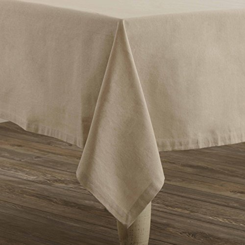 Piper Classics Mill Creek Farmhouse Chambray Table Cloth, 60
