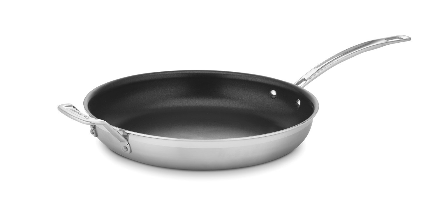 Cuisinart MCP22-30HNSN MultiClad Pro Nonstick Stainless Steel 12-Inch Skillet