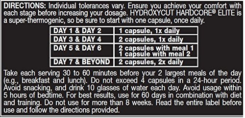 Hydroxycut Hardcore Elite I Started Taking It At The Beginning Of